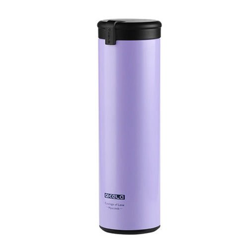 Purple Quality Double Wall Coffee Tea Water Flask Cup Warm Travel Mug by Travel Mugs