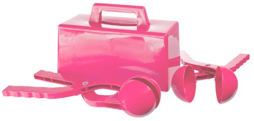 Lucky Bums Kids Snowball Snowbrick Maker Set, Pink