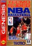 Tecmo Super NBA Basketball Basketball Sega Genesis Game