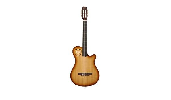 Godin multiac Grand, guitarra Duet ambiente (cuerdas de nailon guitarra electroacústica de concierto: Amazon.es: Instrumentos musicales