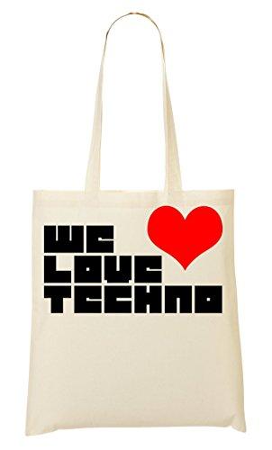 Techno Di Graphic Tote We Sacchetto xYgdvxwqR