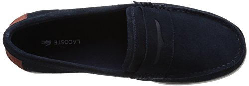 Lacoste Men's Navire Penny 216 1 Slip-On Loafer, Navy, 9.5 M US by Lacoste (Image #8)