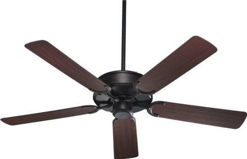 Quorum 146525-44, Wet Allure Patio Toasted Sienna Energy Star 52'' Outdoor Ceiling Fan by Quorum