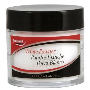 super nail White Powder, 0.75 Ounce (White Super Nail Powder)