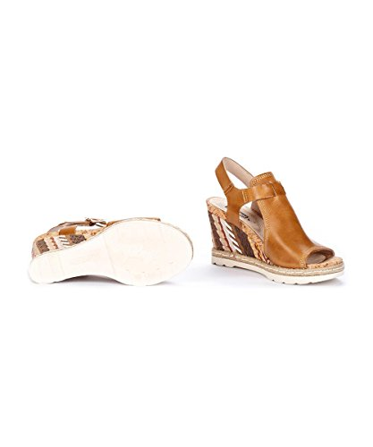 PIKOLINOS W2L-0871 Sandalias de cuña Mujer, COLOR: DESERT, TALLA: 35 Desert