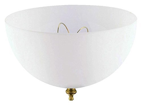 Westinghouse Clip-On Shade 7 3/4'' In. Dia White by Ciata Lighting