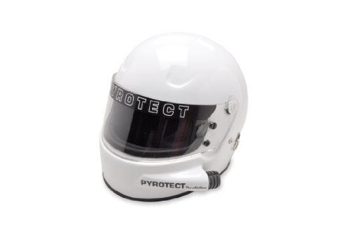 Pyrotect: Pro Airflow White Side Forced Air Helmet
