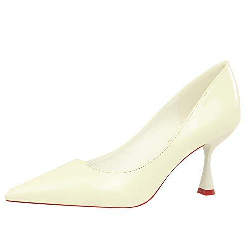 Sandales Balamasa Blanc Femme Compensées Apl10576 pSq5wSTv
