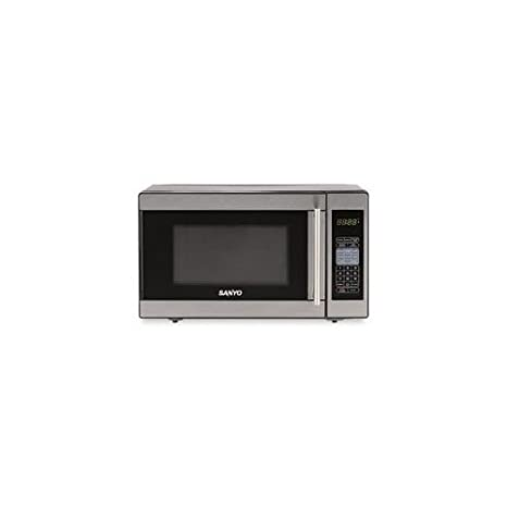 Amazon.com: 0,7 cu. ft. Stnls Stel Microondas Horno compacto ...