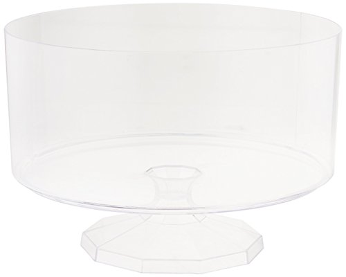 (Amscan 437842.86 Medium Trifle Container, 7 3/8