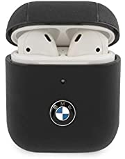 BMW BMA2CSLBK Signature Leather Case for AirPods 1/2 Black