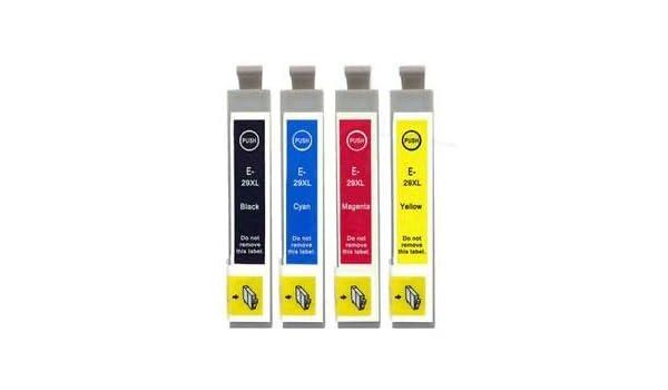 Premier cartuchos XL Cartuchos de Tinta 4 x 29 para Epson ...