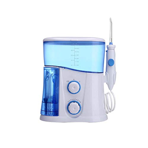 Tooth cleaner Portable Professional Cordless Dental Oral Irrigator Red Teeth 600ml with 7 Spray Tubes