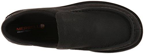 Black Merrell on Slip chaussures Bask Moc 4zqXrxzROa