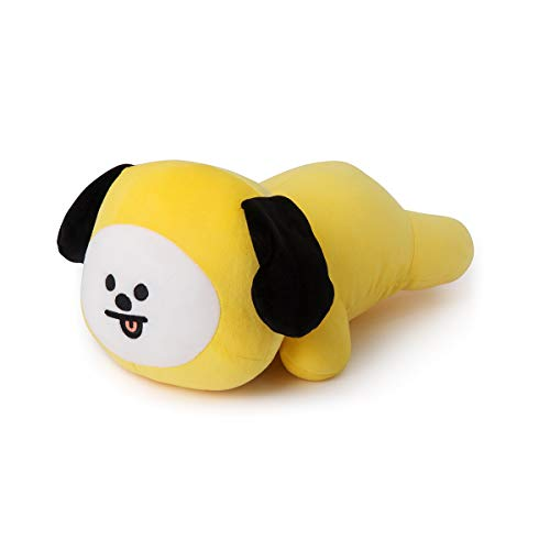 BT21 Official Merchandise by Line Friends - CHIMMY Mini Cushion Stuffed Pillow, Yellow