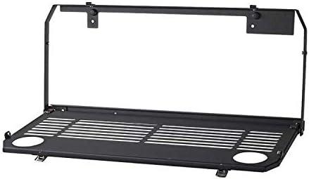 Tailgate Table Rear Foldable Back Rear Door Table Storage Cargo Shelf Rack Carrier Compatible for J-eep Wrangler JL 2//4 Doors