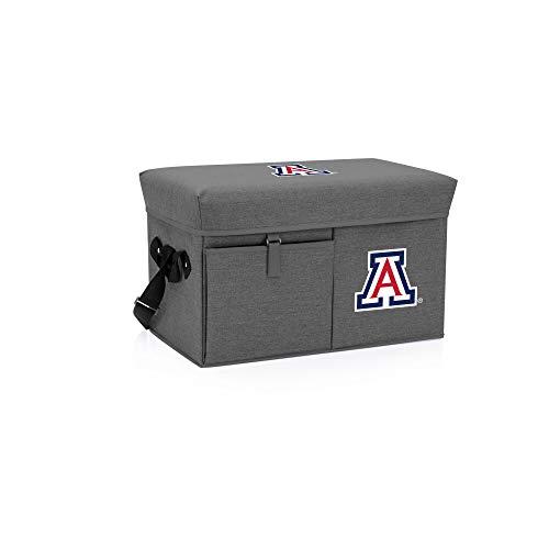 PICNIC TIME Arizona Wildcats - Ottoman Cooler & Seat (Grey) ()