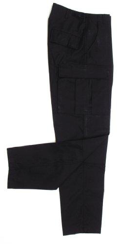 MFH US BDU - Pantalones para hombre Negro (Black)