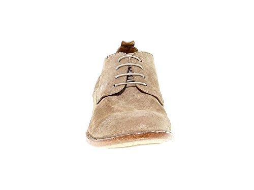 Marron MOMA Homme À Chaussures 14801BEIGE Lacets Suède ZnBnxwaSq