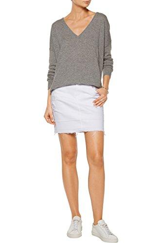 J Brand Leila Pencil Skirt, White Destructd, 26 by J Brand Jeans