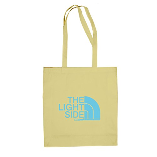 The Light Side - Stofftasche / Beutel, Farbe: natur