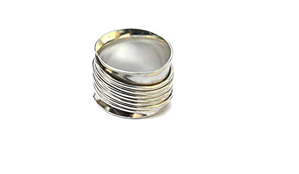Wide silver ring Silver statement ring Sterling silver ring band silver rings for women chunky silver ring