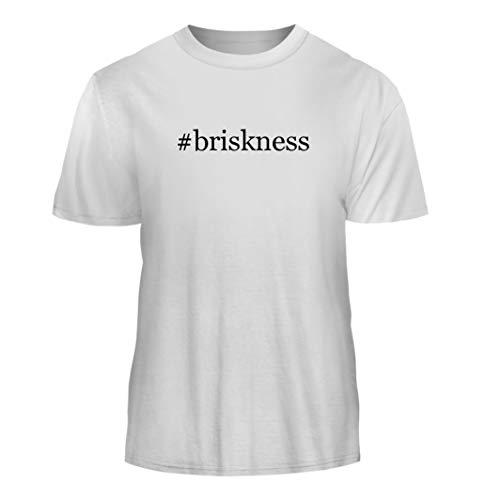 Tracy Gifts #Briskness - Hashtag Nice Men's Short Sleeve T-Shirt, White, X-Large