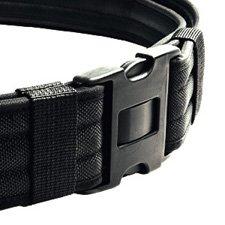 Heros Pride Replacement Buckle System For 2-1/4in Duty Belt, Triple Lock, Black