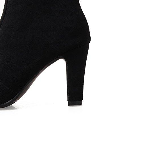 Femmes La De Bottes Daim Abl10195 Des Noir Balamasa Robe Des De En Antidérapantes Mode XqE5U4