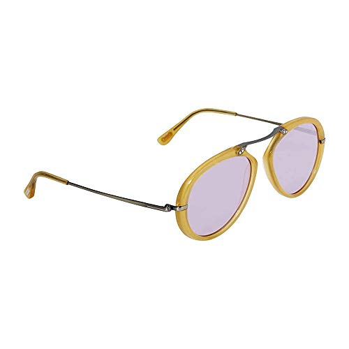Tom Ford Sunglasses - FT0473 39Y - Shiny Yellow/Violet (53/17/145)