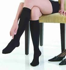 Travel and Sport Socks. Black Nylon / Spandex for Comfortable Travel and Exercise. Great If You Work on Your Feet!
