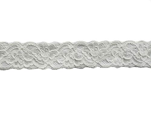 (YYCRAFT Pack Of 10y Great Quality Elastic Lace 1.5
