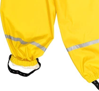 Polarn O Pyret Waterproof Suspender RAIN Pants 6MOS-2YRS