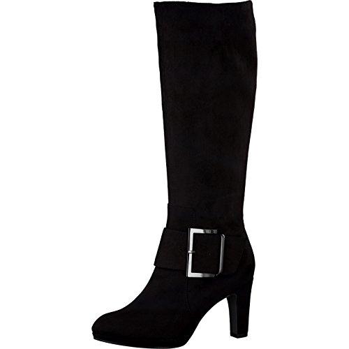 Tamaris Damenschuhe 1-1-25591-37 Damen Stiefel, Boots, Winterstiefel schwarz (BLACK), EU 38
