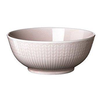 Bowl Rice Rose - Swedish Grace 10 oz. Rice Bowl Color: Rose