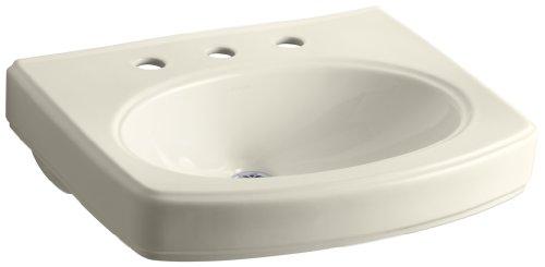 KOHLER K-2028-8-47 Pinoir Bathroom Sink Basin with 8
