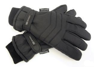 Octave - Herren Ski-Handschuhe - Thinsulate-Futter - Klettverschluss & Polsterung