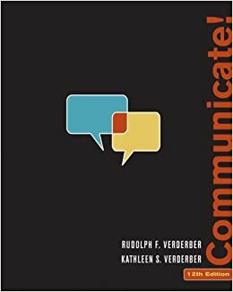 communicate by rudolph verderber pdf