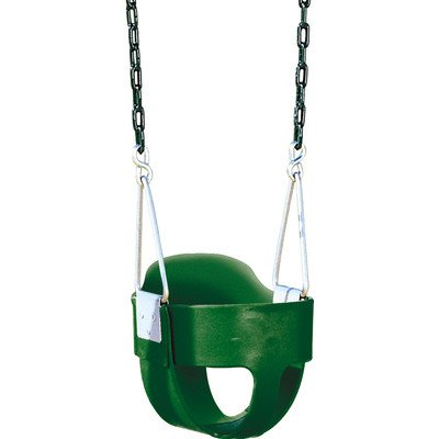 bucket toddler swing with chains - Lifetime Adventure Tower Playset