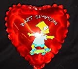 Grabo 7' Bart Simpson Character Mini Foil Balloon With Cup And Stick (m35)