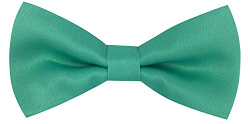 CD Kids Bow Tie | Toddlers Adjustable Bowtie | Accessories for Boys and Girls (Mint Green, Kids) (Green Polyester Boys Ties)