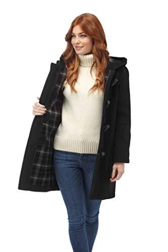 Original Montgomery Womens Duffle Coat - Charcoal (06)