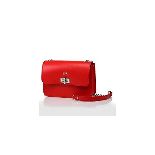Donna Tracolla amp; Unica Talla Borsa Victorio Lucchino Rosso 4467 A 301 v04dwYdq