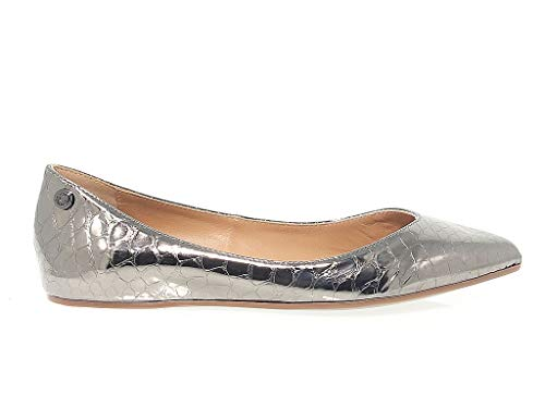 Love Moschino Luxury Fashion Womens 1115 Bronze Flats   Season Permanent