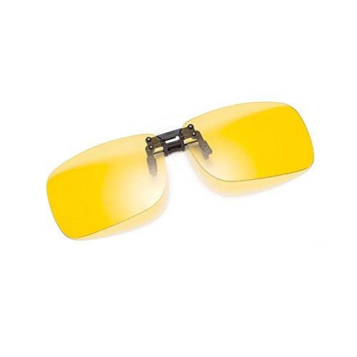Cyxus polarizado reflejado lentes clásico gafas de sol Gafas con clip [Anti reflejante] Protección uv, para...