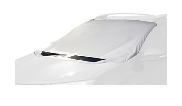 Black//Silver 3D MAXpider Semi-Custom Fit Wintect All Season Windshield Cover 60 x 53 x 66