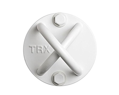 TRX Training - X-Mount, Create a Durable and Discrete Mount Almost anywhere with This Anchor Point (White)