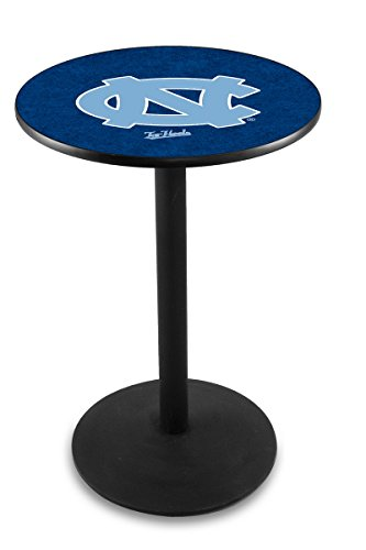 Holland Bar Stool L214B University of North Carolina Officially Licensed Pub Table, 28