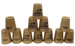 - Set of 12 GOLD Speed Stacks Cups with Carry Case