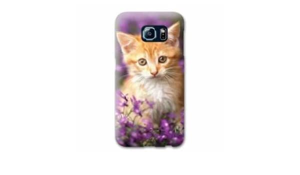 Amazon.com: Case Carcasa LG K4 animaux 2 - - chat violet B ...